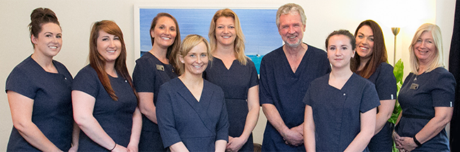Staff at Brixham Dental Practice